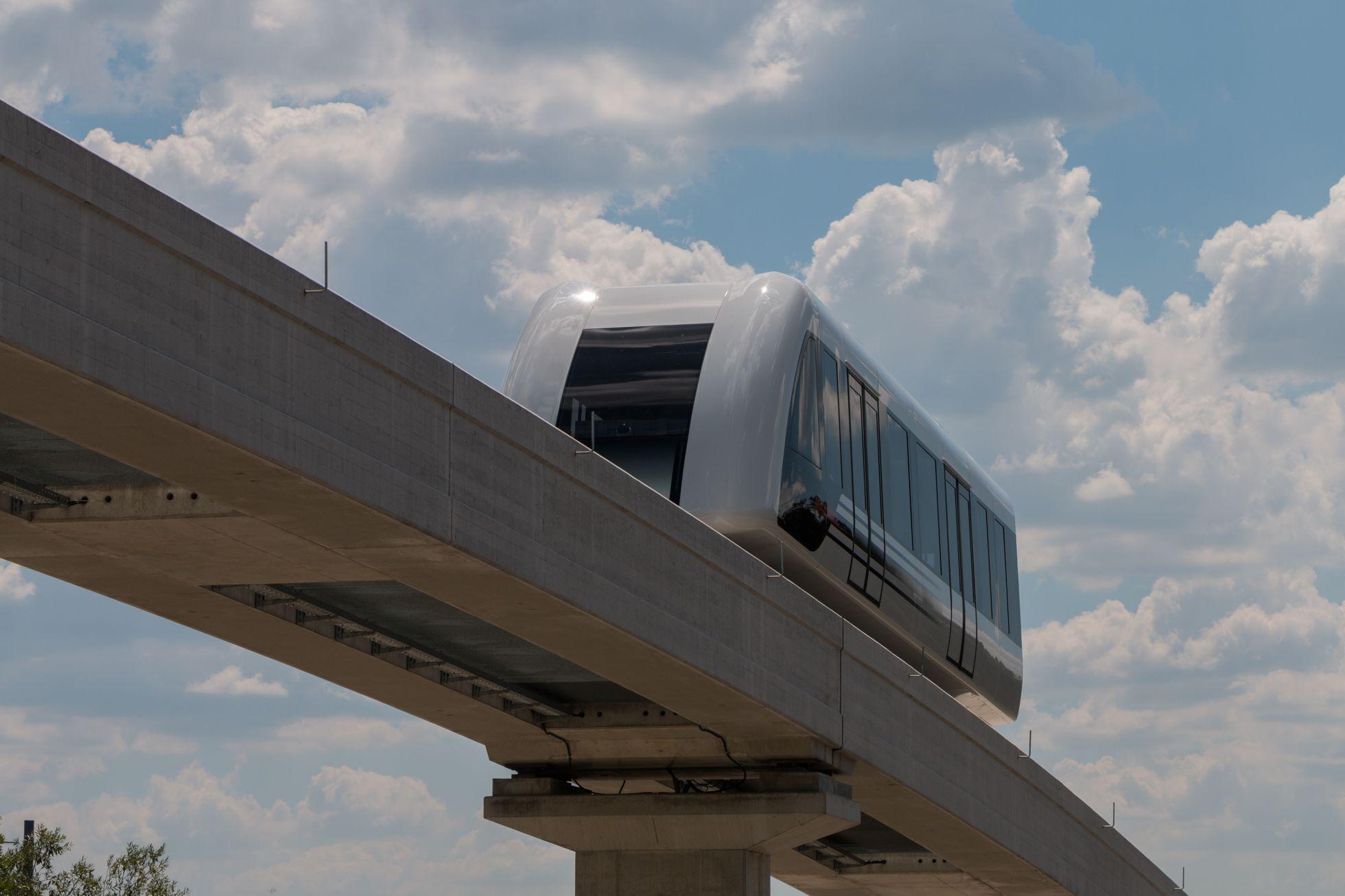 Transport System Bögl: Bundesregierung testet Magnetschwebebahn -