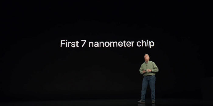 Präsentation des A12 (Bild: Apple)
