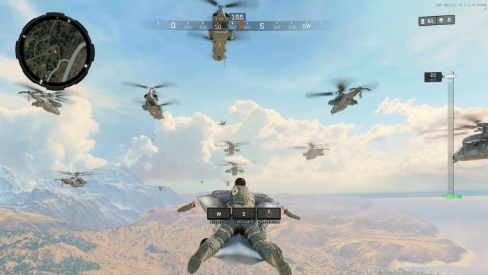Beta von Blackout auf dem PC (Bild: Activision/Screenshot: Golem.de)
