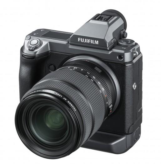Fujifilm GFX 100 (Bild: Fujifilm)