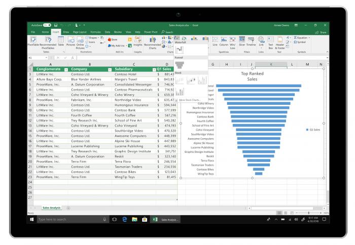 Excel - Microsoft Office 2019 (Bild: Microsoft)