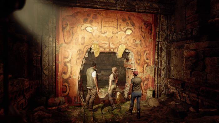 In düsteren Höhlen gibt es düstere Geheimnisse. (Bild: Square Enix/Screenshot: Golem.de)