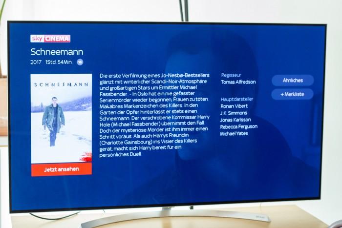 Detailansicht eines Films in Sky Ticket (Bild: Christoph Böschow/Golem.de)