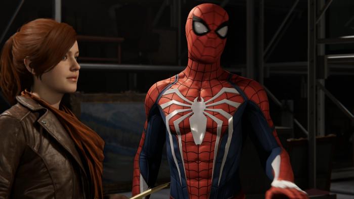 Mary Jane weiß Bescheid über das wahre Ich von Spider-Man. (Bild: Sony/Screenshot: Golem.de)