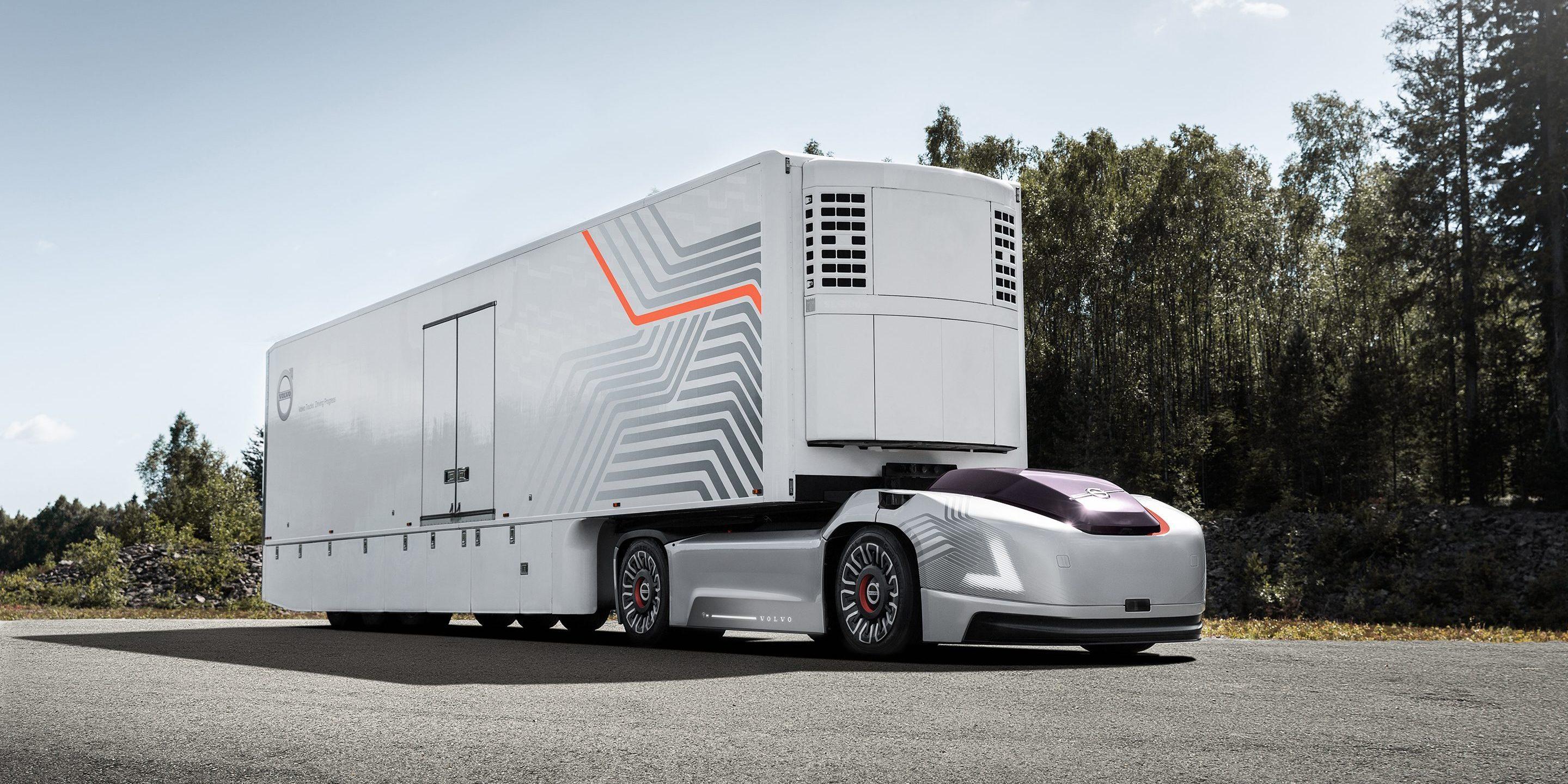 Fahrerlos: Volvo zeigt vollelektrischen und autonomen Lkw ohne Kabine - Volvo Vera (Bild: Volvo Trucks)
