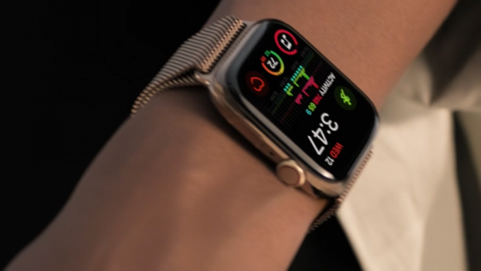 smartwatch apple watch series 4 mit ekg und. Black Bedroom Furniture Sets. Home Design Ideas