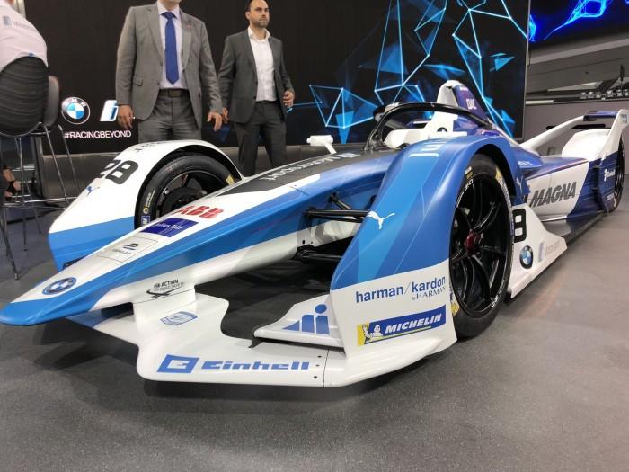 Formel-E-Rennwagen BMW IFE.18  (Foto: Dirk Kunde)