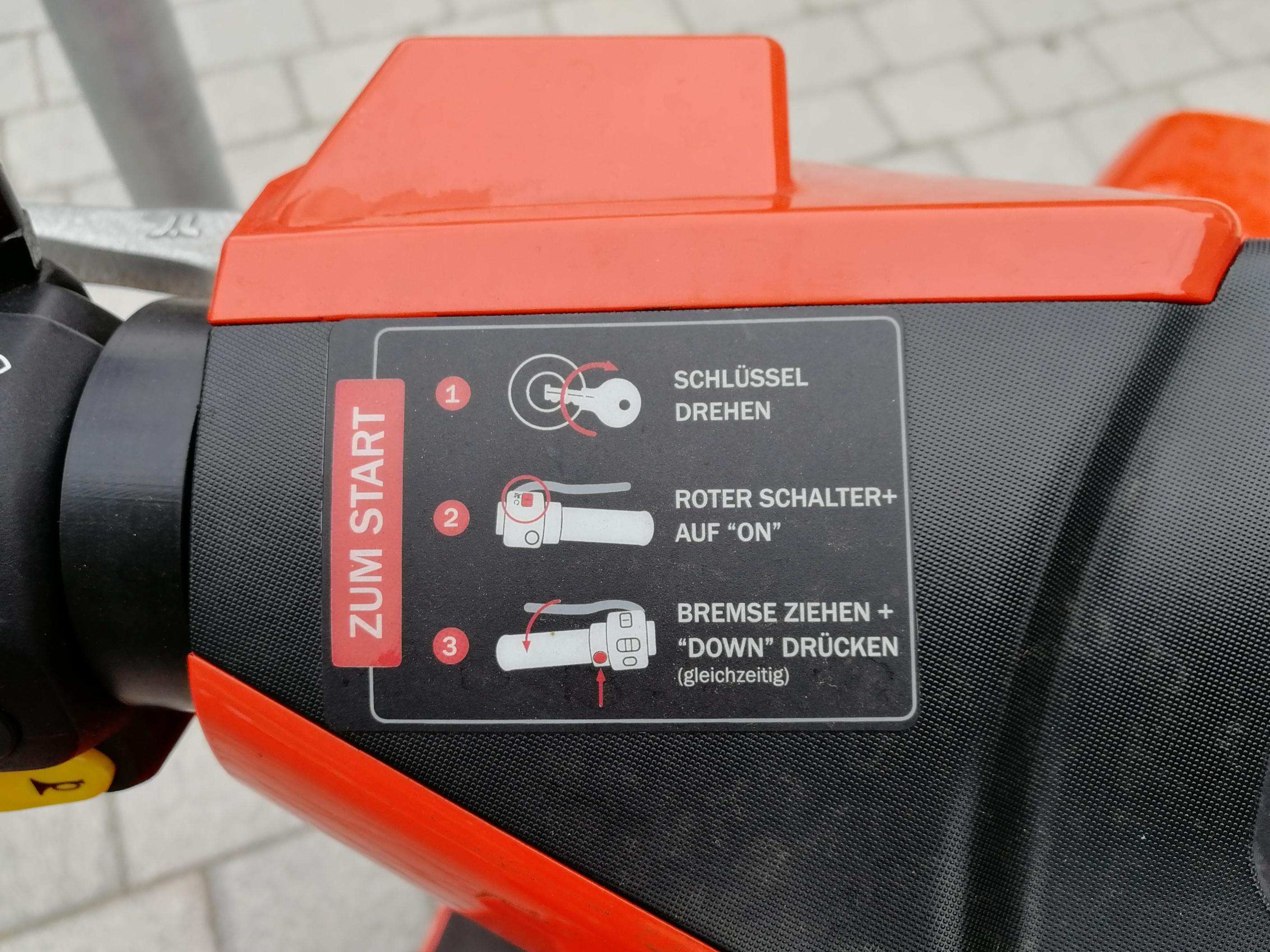 Elektroroller-Verleih Coup: Zum Laden in den Keller gehen -