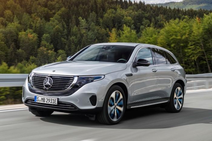 Der neue EQC ist das erste Modell der vollelektrischen EQ-Serie von Mercedes. (Foto: Daimler AG)