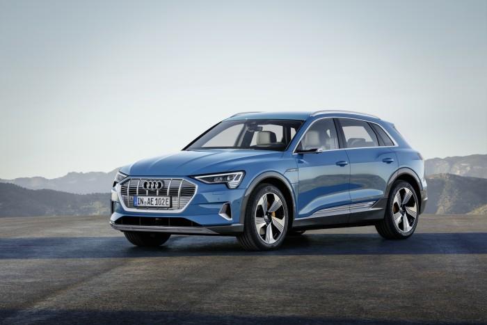 Der neue E-Tron ist das erste vollelektrische Auto von Audi. (Foto: Audi AG)
