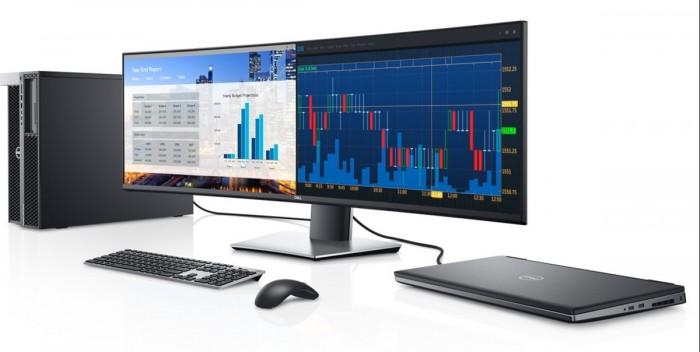 Dell Ultrasharp 49 (Bild: Dell)