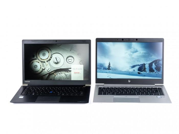 Beide Notebooks haben gleich große Displays. (Bild: Martin Wolf/Golem.de)