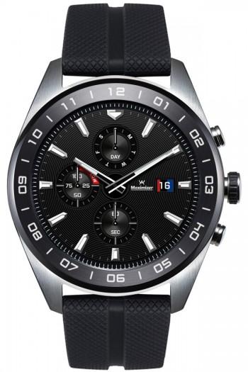 Die Watch W7 von LG hat ein 1,2 Zoll großes Display und echte Zeiger. (Bild: LG)