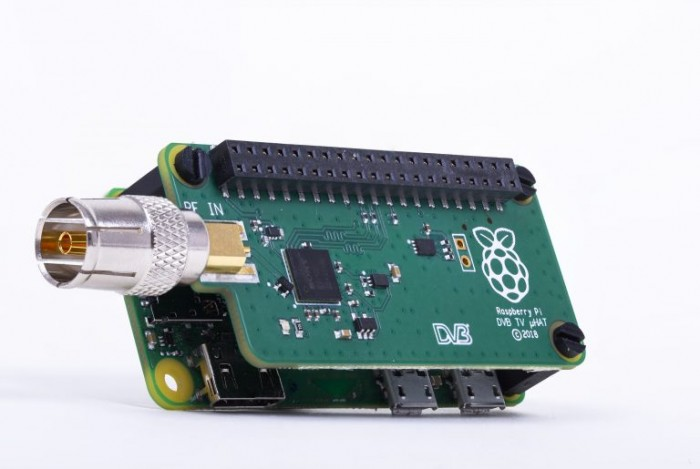 Raspberry Pi TV HAT (Bild: Raspberry Foundation)