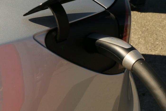 Der Ladestecker in den USA unterscheidet sich vom europäischen Typ-2-Stecker. (Foto: Friedhelm Greis/Golem.de)