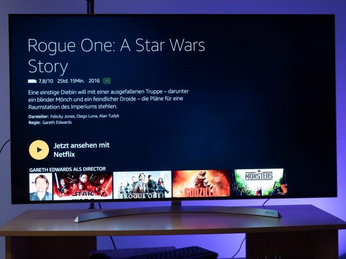 Diesen Star-Wars-Film gibt es derzeit bei Netflix. (Bild: Martin Wolf/Golem.de)