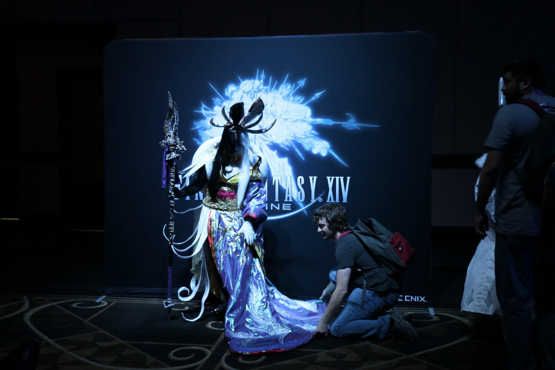 Final Fantasy 14 Online Report: Zwischen Cosplay, Kirmes und Kampfsystem -