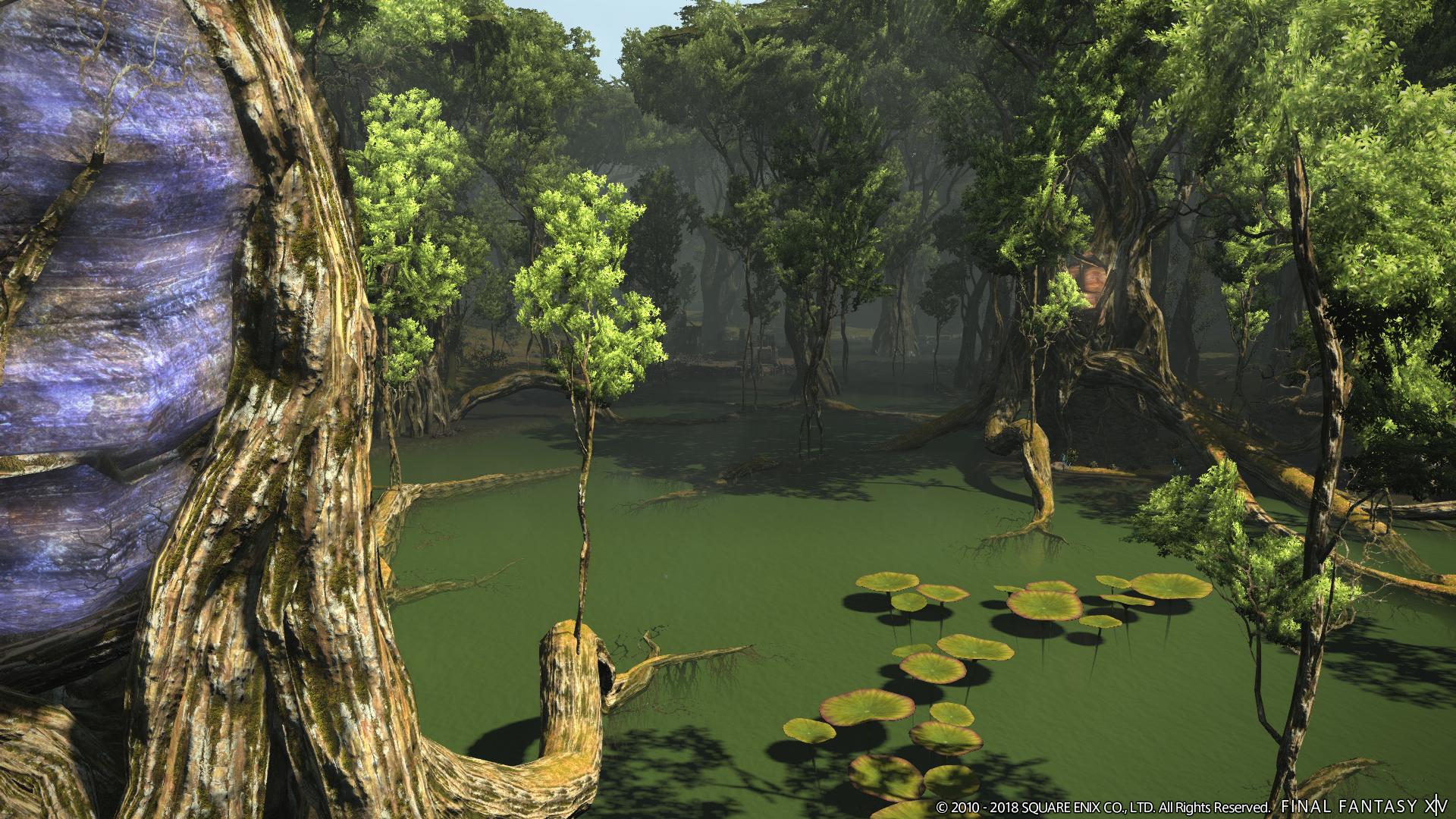 Square Enix: Final Fantasy 14 erhält Solo-Inhalte und besonderen Magier - Artwork aus Final Fantasy 14 - Shadowbringers (Bild: Square Enix)