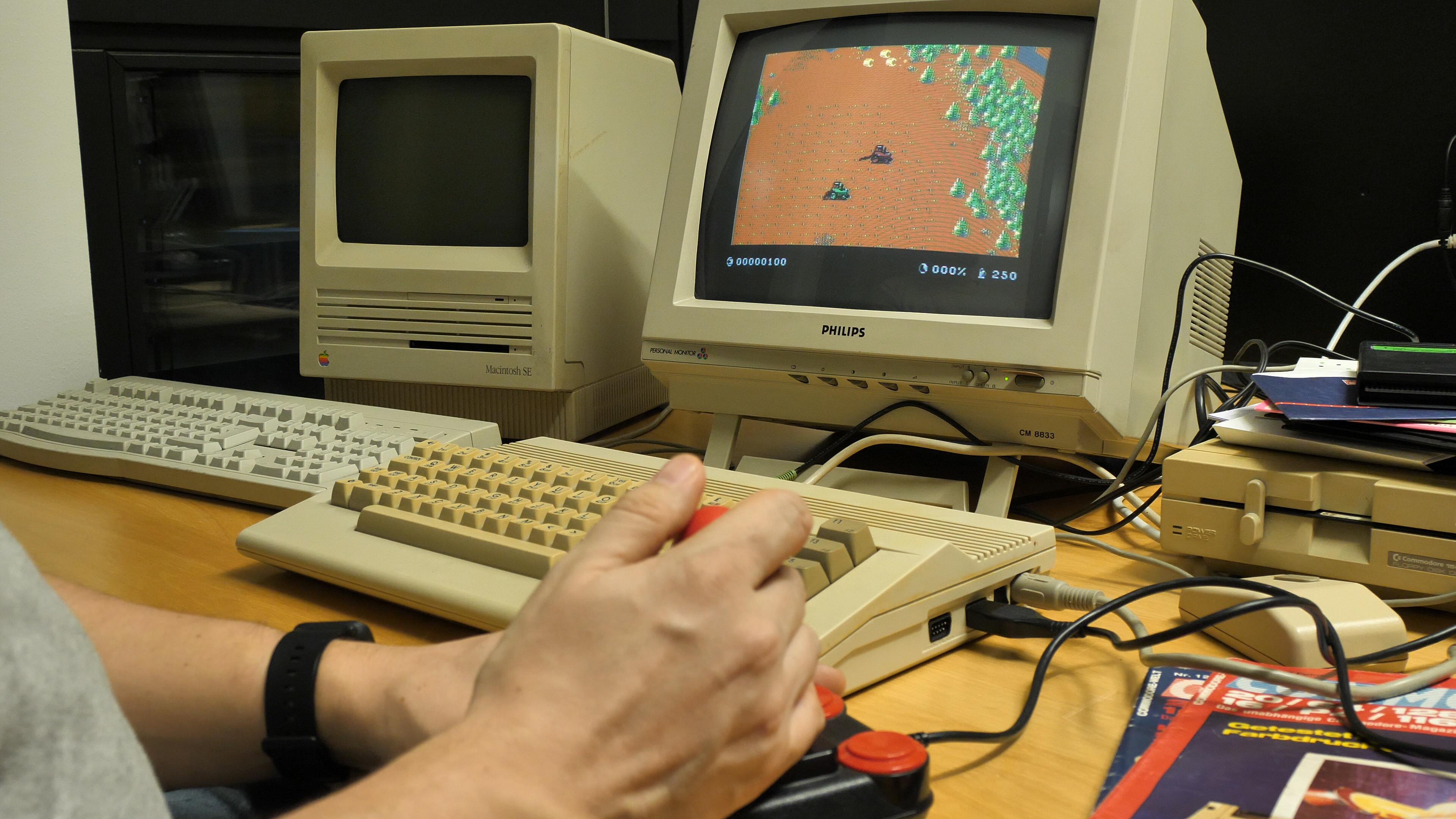 Landwirtschafts-Simulator auf dem C64: Auf zum Pixelernten! -