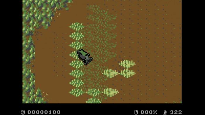 Im Spiel müssen wir unser Feld bestellen und ernten. (Screenshot: Golem.de)
