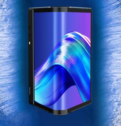 Das Flexpai von Royole ist das erste kommerziell erhältliche Smartphone mit faltbarem Display. (Bild: Royole)