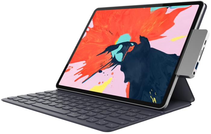 Hyperdrive-Dock für das iPad Pro 2018 (Bild: Sanho)