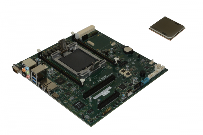 Das Mainboard Blackbird nutzt eine Power9-CPU. (Bild: Raptor Computing)