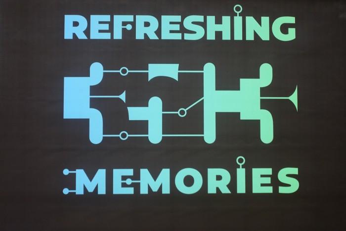 Refreshing Memories: Der CCC wollte auf dem 35. Chaos Communication Congress Erinnerungen auffrischen. (Foto: Friedhelm Greis/Golem.de)