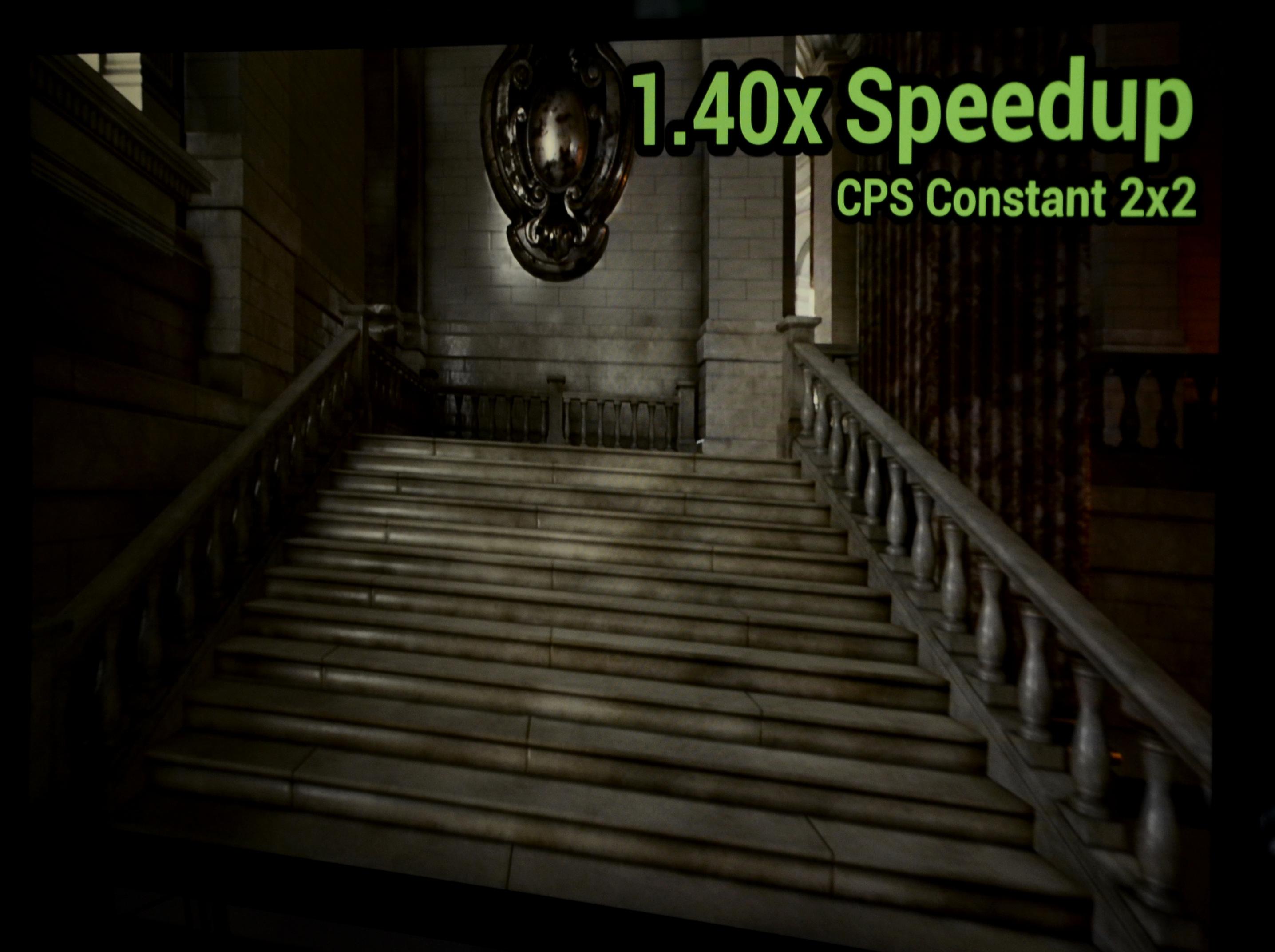 Ice Lake: Intels nächste GPU doppelt so schnell und auf Wunsch ungenau - Im Schnitt bringt die Unreal4-Demo mit CPS 40 Prozent mehr Tempo. (Bild: Nico Ernst)