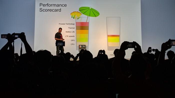 Qualcomm sieht sich weit vor Intel. (Bild: Marc Sauter/Golem.de)