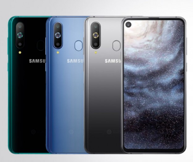 galaxy a8s samsung stellt erstes smartphone mit kamera im display vor. Black Bedroom Furniture Sets. Home Design Ideas