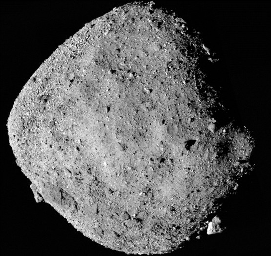 Der Asteroid Bennu (Bild: Nasa/Goddard/University of Arizona)