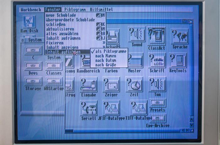 Das Betriebssystem unserers CDTV ist mit Versionsnummer 3.1 aus dem Jahr 1997 recht neu. (Bild: Martin Wolf / Golem.de)