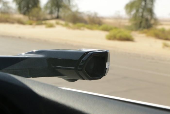 Erstmals ersetzen Kameras die traditionellen Außenspiegel. (Foto: Friedhelm Greis/Golem.de)
