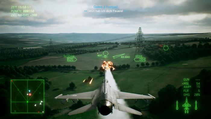 Erst aus der Nähe sieht die Bodengrafik etwas detailarm aus. (Bild: Bandai Namco/Screenshot: Golem.de)