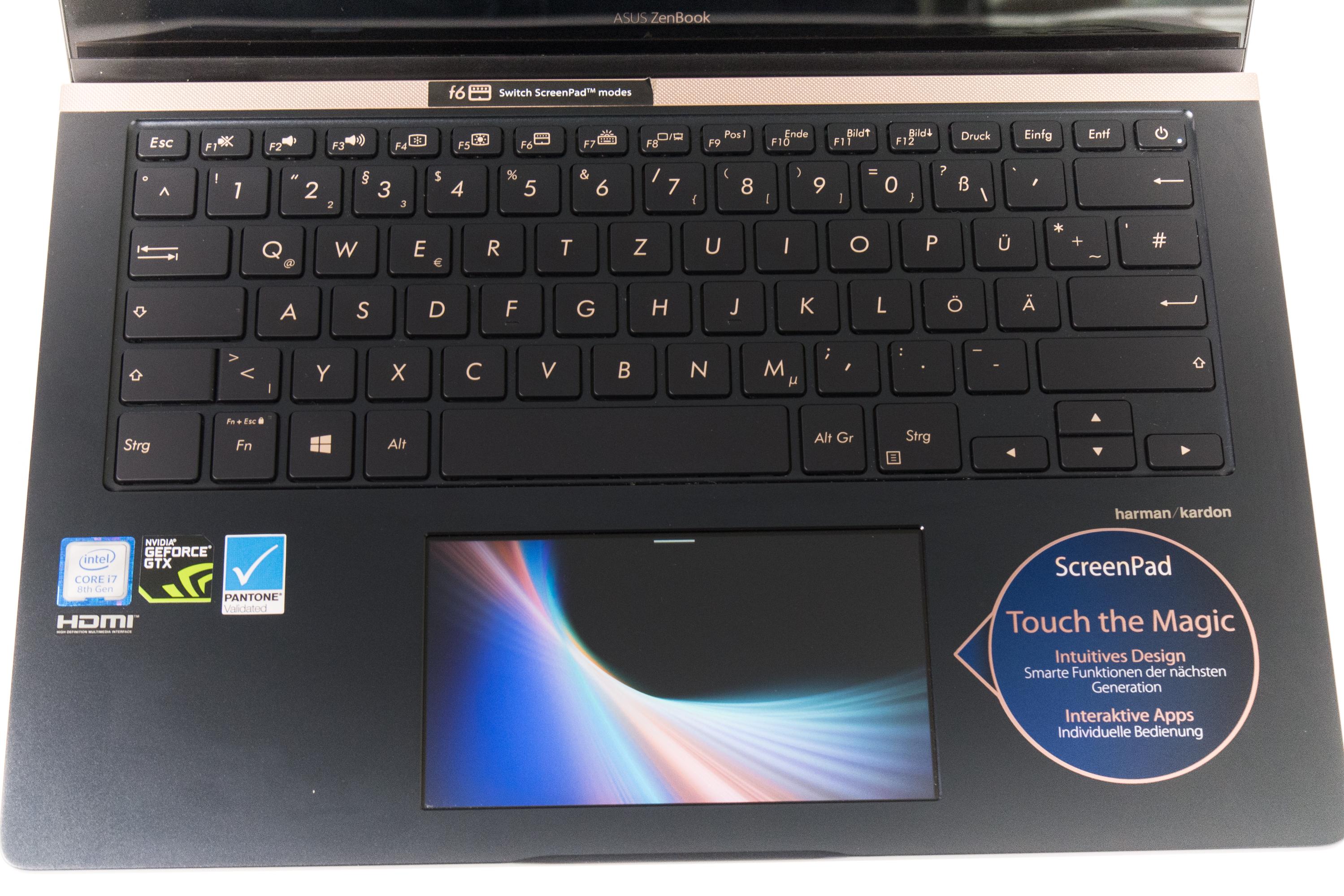 Asus Zenbook Pro 14 im Test: Das Display im Touchpad macht den Unterschied -