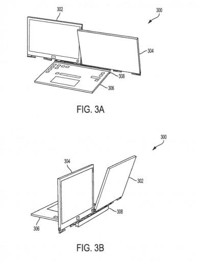 Dells Konzept mit zwei Bildschirmen (Bild: Dell)