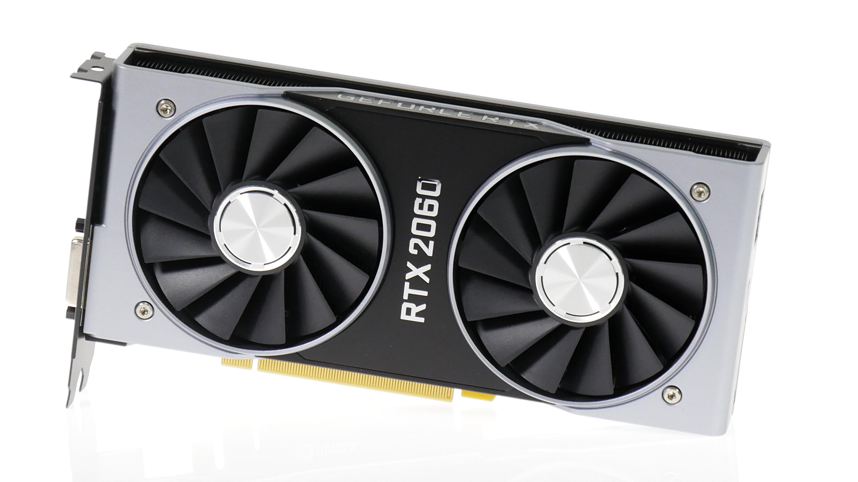 Geforce RTX 2060 im Test: Gute Karte zum gutem Preis mit Speicher-Aber - Geforce RTX 2060 (Bild: Marc Sauter/Golem.de)