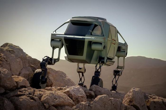 Hyundai Konzeptfahrzeug Elevate (Bild: Hyundai)