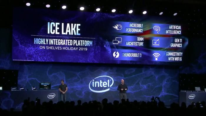Ice Lake erscheint zuerst für Ultrabooks. (Bild: Intel)