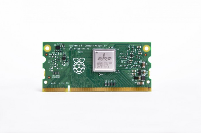 Raspberry Pi Compute Module 3+ (Bild: Raspberry Foundation)