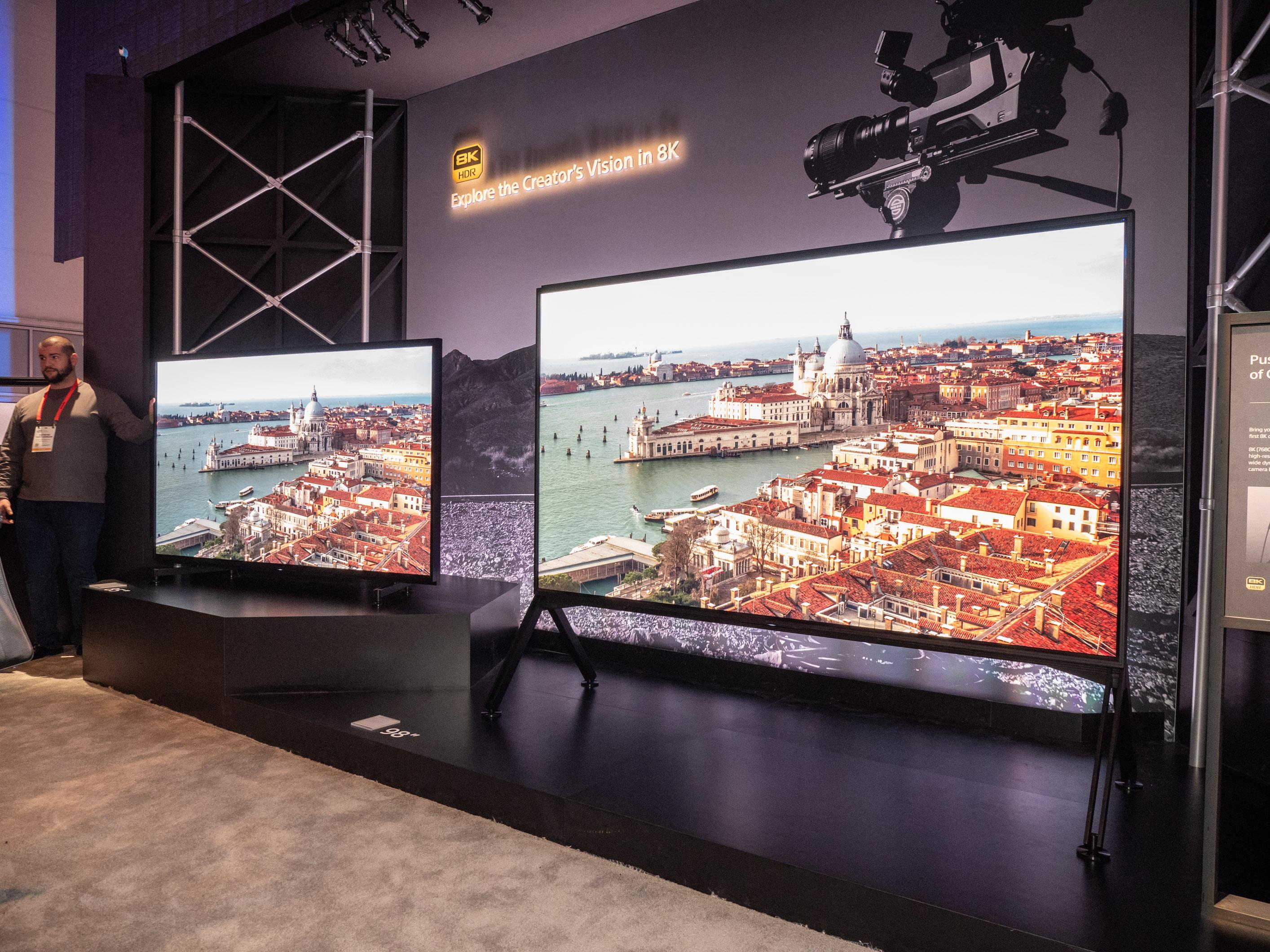 Master Series ZG9: Sony stellt seinen ersten 8K-Fernseher vor -