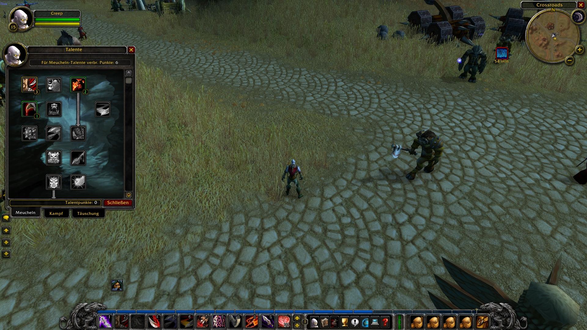 WoW Classic: World of Warcraft und die Macht der Nostalgie - Der alte Talentbaum von World of Warcraft war in der Classic-Demo schon enthalten. (Bild: Blizzard/Screenshot: Golem.de)