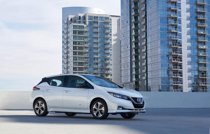 Der Nissan Leaf e+ hat eine größere Akkukapazität als der Vorgänger. (Bild: Nissan)