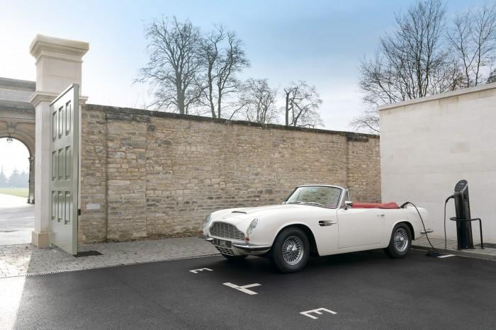 Aston Martins - die Lieblingsautos von James Bond - werden elektrisch. (Bild: Aston Martin)