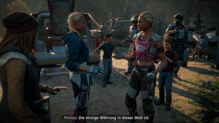 Die Antagonisten sind wieder ziemlich verrückt. (Bild: Ubisoft/Screenshot: Oliver Nickel/Golem.de)