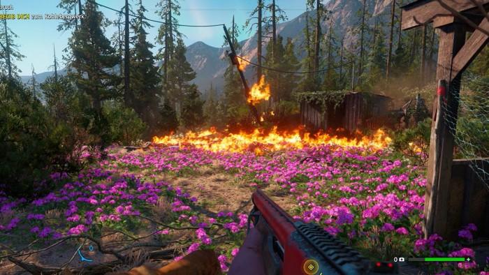 In New Dawn liegen Idylle und Chaos nah beieinander. (Bild: Ubisoft/Screenshot: Oliver Nickel/Golem.de)