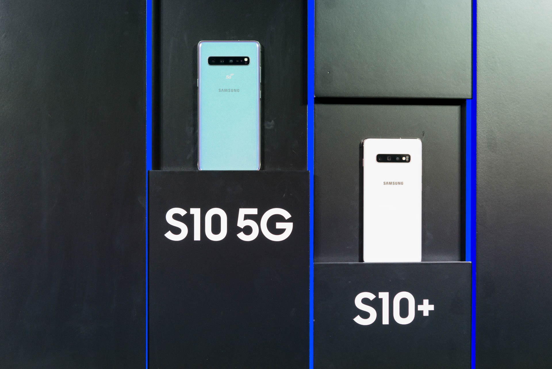 Galaxy S10 im Hands on: Samsung bringt vier neue Galaxy-S10-Modelle - Ebenfalls vorgestellt hat Samsung eine  5G-Version des Galaxy S10. (Bild: Areamobile.de)
