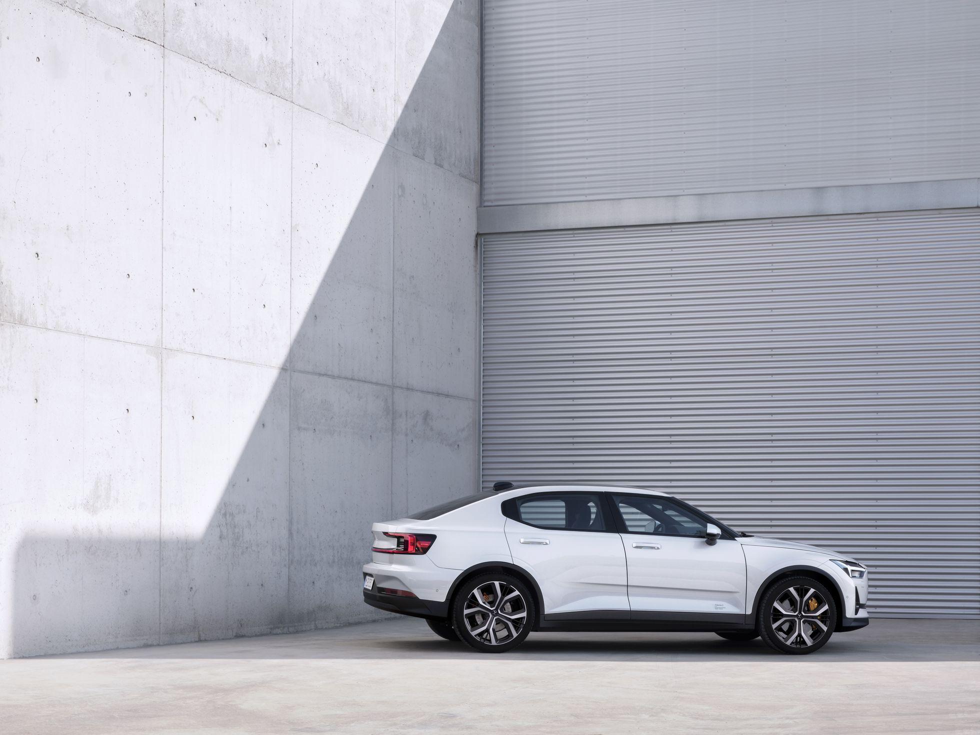 Polestar 2: Erster Elektro-Volvo kostet 40.000 Euro - Der Polestar 2 ist Volvos erste elektrisches Serienfahrzeug. (Bild: Volvo)